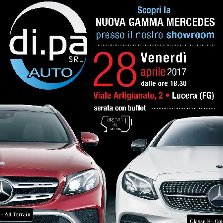 Di.Pa. srl presenta la nuova Classe E Mercedes